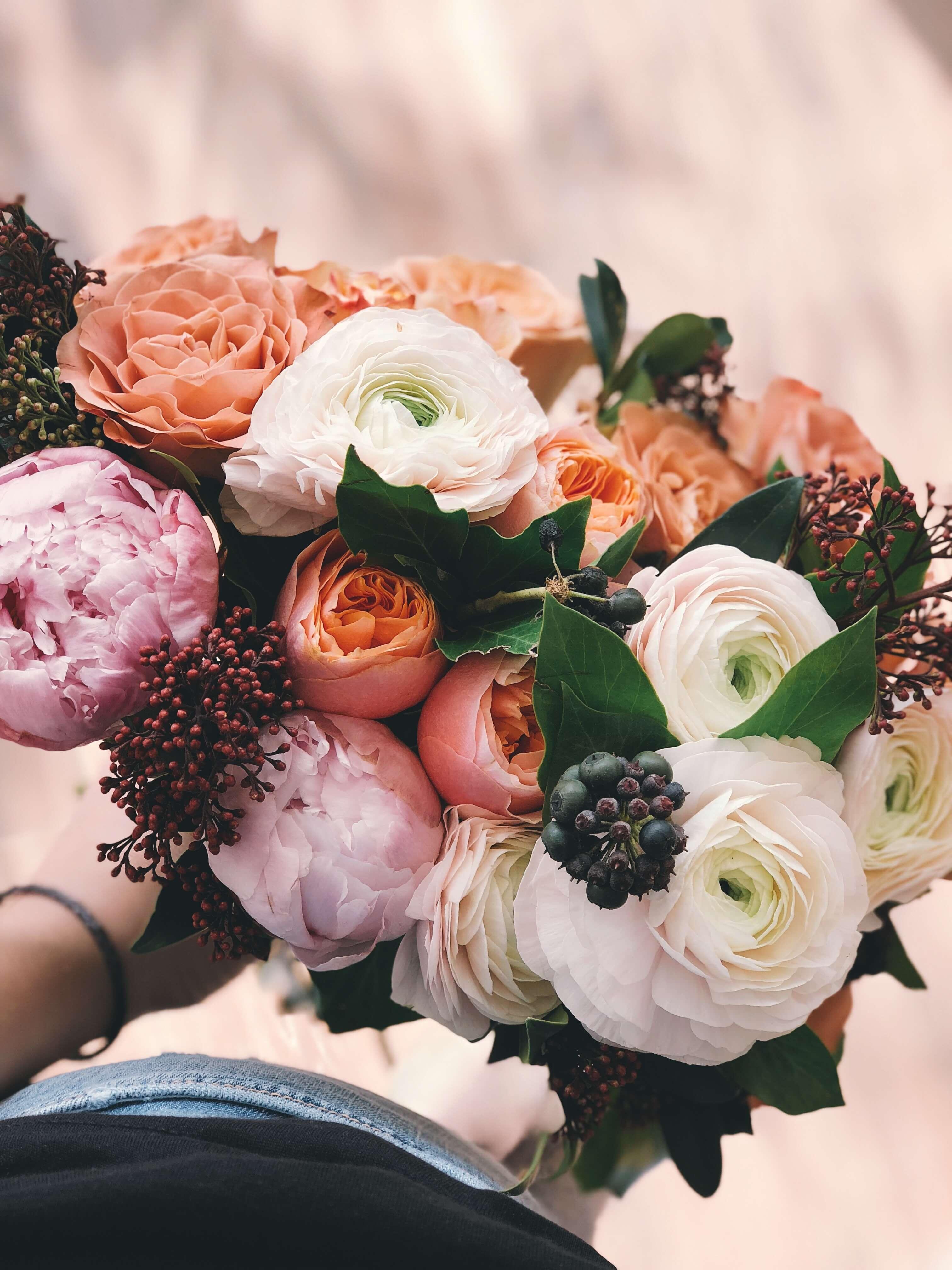 Bouquet favourite flower