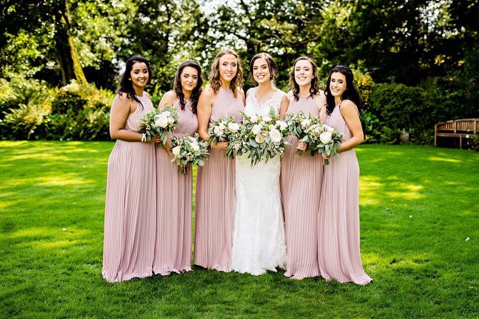 Pale Pink Bouquets